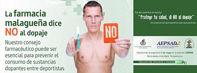 La Farmacia Malagueña dice NO al dopaje